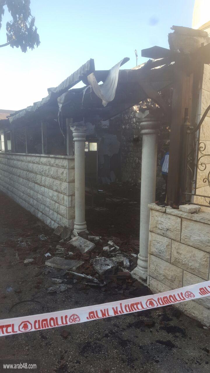 بسمة طبعون: حريق داخل المسجد