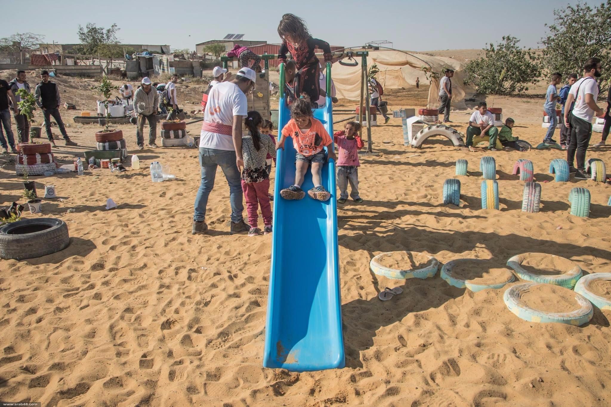 اتحاد الشباب ينظم معسكر صمود الثالث في قرية الصواوين بالنقب