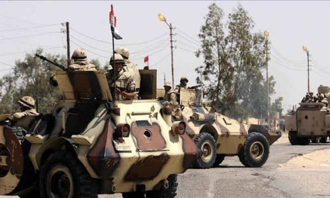 مقتل 19 مسلحا بسيناء بنيران الجيش المصري