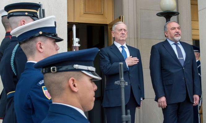 ماتيس يبحث مع نتنياهو النووي الإيراني والحرب بسورية