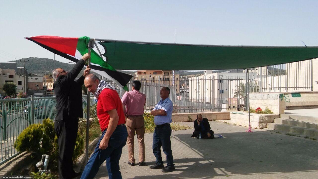 إضراب رمزي عن الطعام إسنادا للأسرى المضربين
