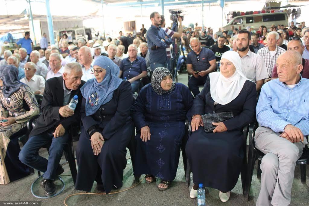 مهرجان حاشد لاستقبال الأسيرة الجربوني وإسنادا لإضراب الكرامة