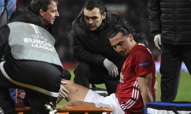 مورينيو يبدي قلقه من إصابة إبراهيموفيتش