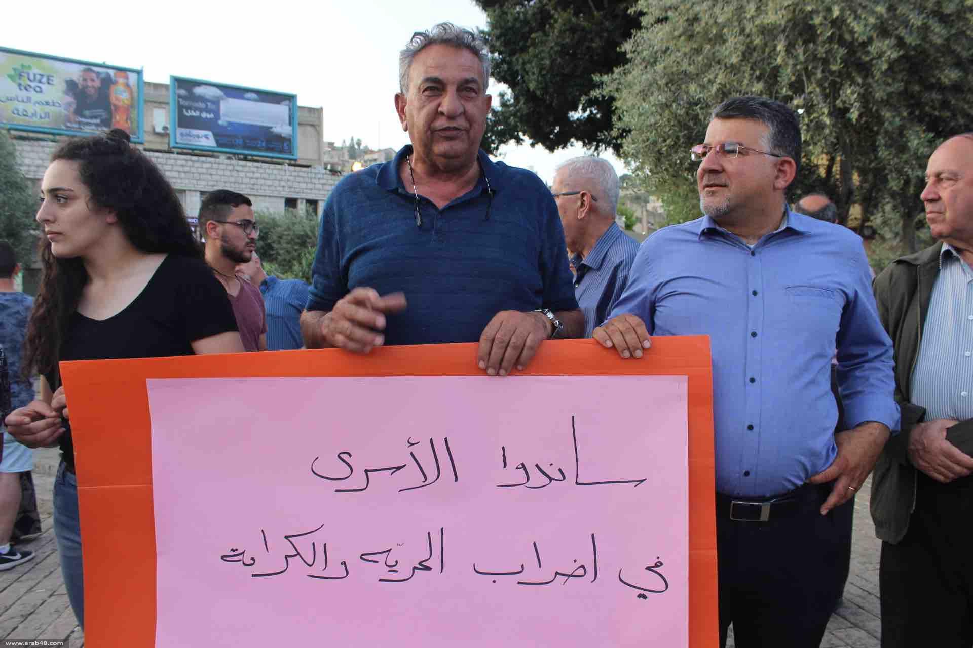 """إضراب """"الحرية والكرامة"""" يتفاعل بالبلدات العربية"""