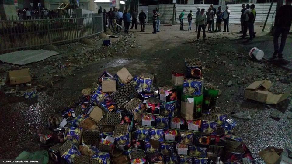 كفرمندا: إضراب شامل للمحال التجارية ووقفة رافضة للعنف