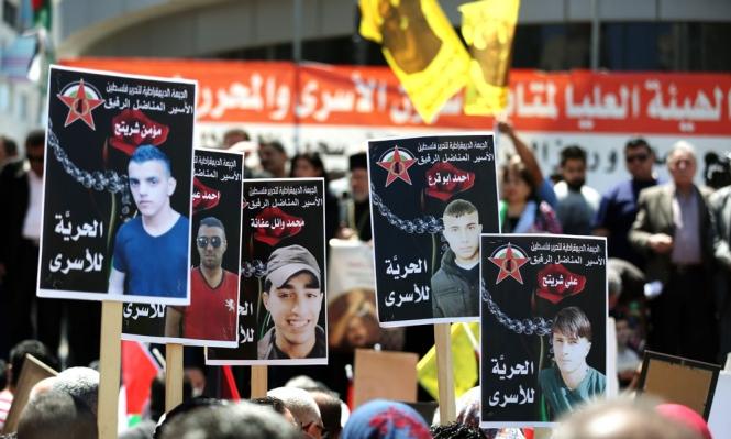 الأسرى يواصلون إضرابهم لليوم الثامن على التوالي