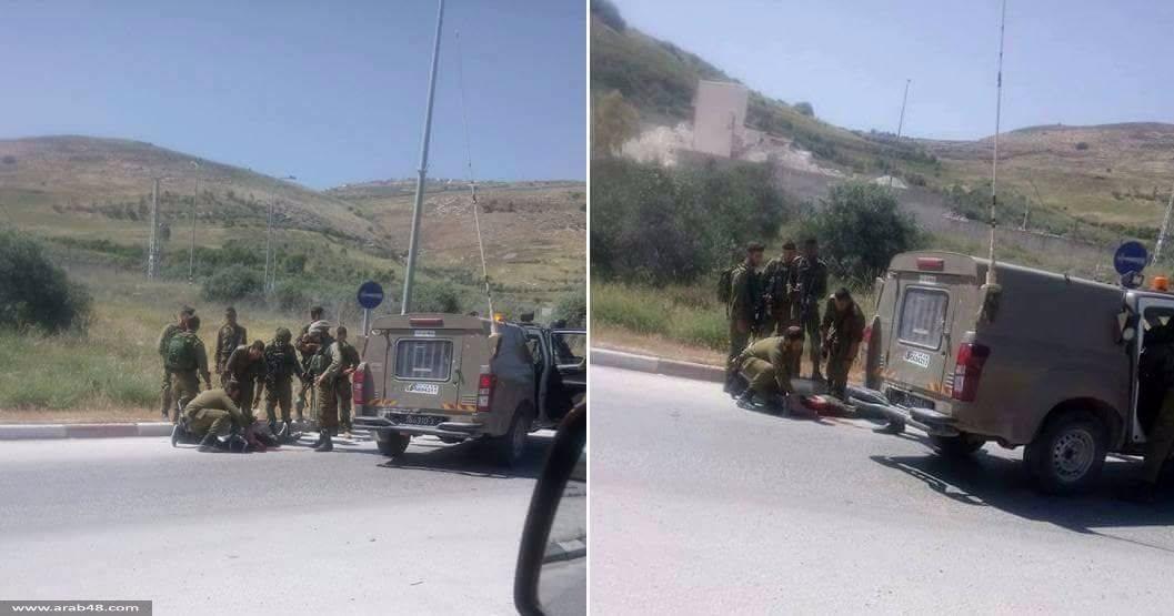 حوارة: إصابة فلسطيني بجراح حرجة بنيران الاحتلال