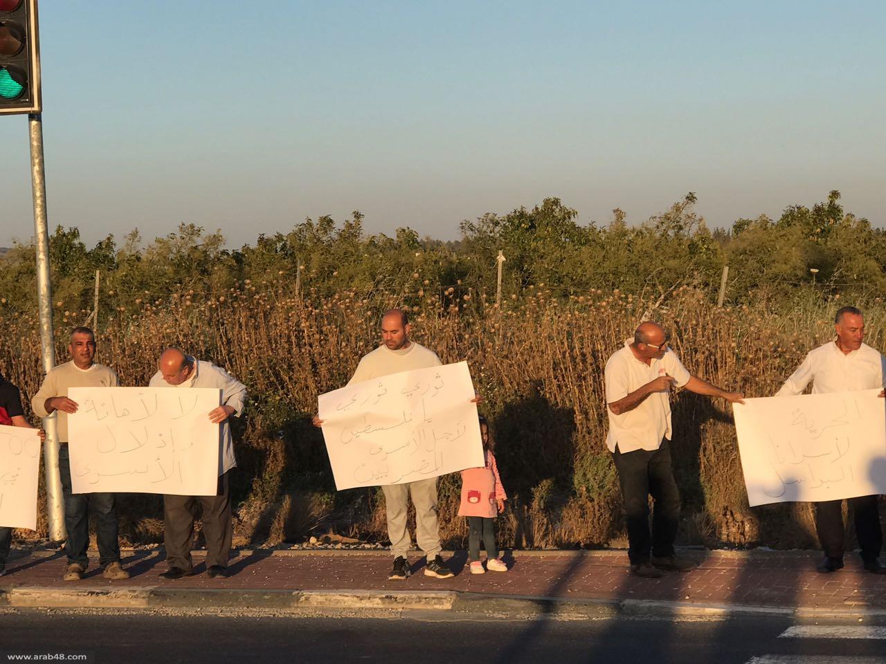 يافا والطيرة تقفان تضامنًا مع إضراب الأسرى