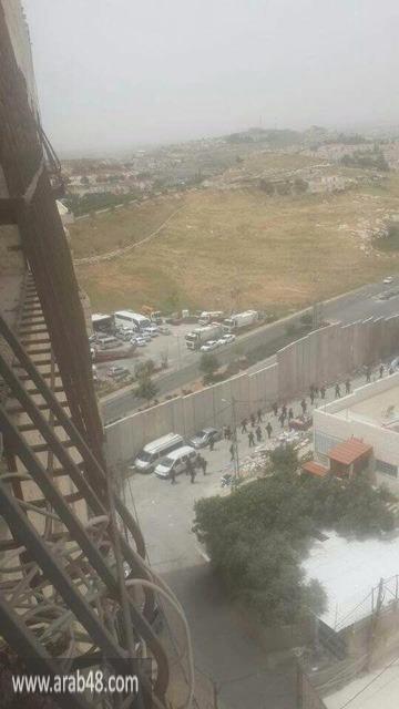 إطلاق النار على فلسطيني بادعاء محاولته تنفيذ عملية طعن