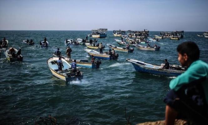 غزة: وقفة لتوسيع مساحة الصيد ورفع الحصار البحري