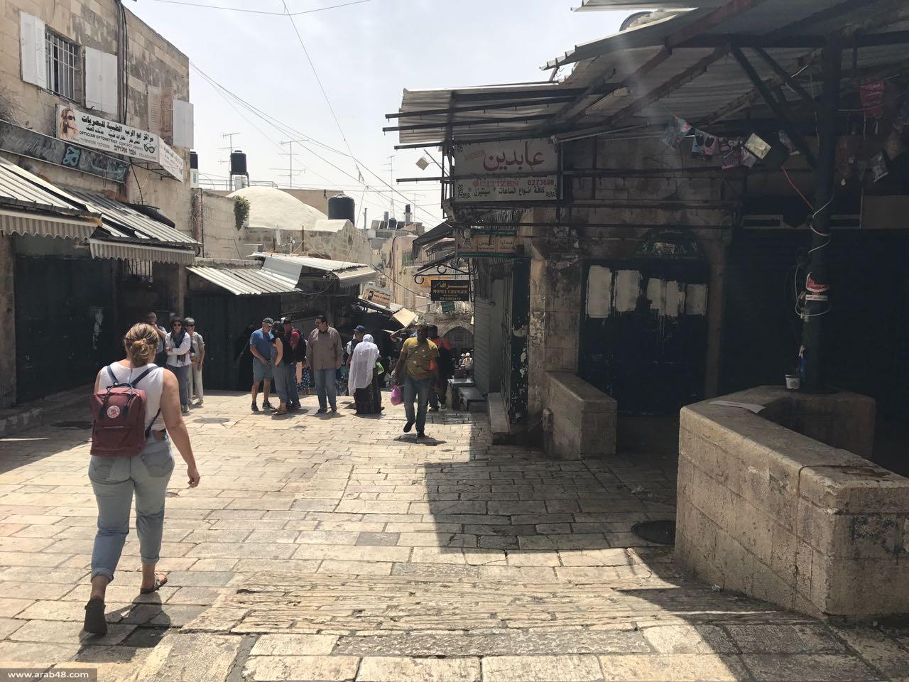 الإضراب يعم المدن الفلسطينية المحتلة إسنادا للأسرى