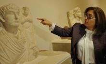 """""""تدمر التاريخية"""" في متحف الآثار في عنتاب التركية"""