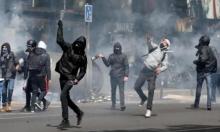 الأمن الفرنسي يقمع مظاهرات احتجاجية على نتائج انتخابات الرئاسة
