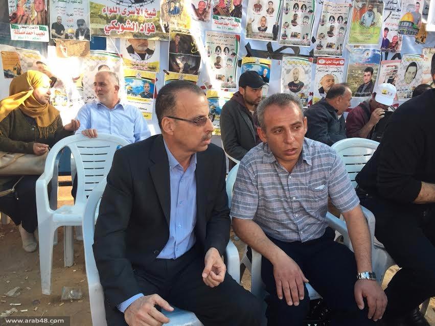 عبد الفتاح يدعو لترجمة إضراب الأسرى لصيغة وحدوية شعبية شاملة