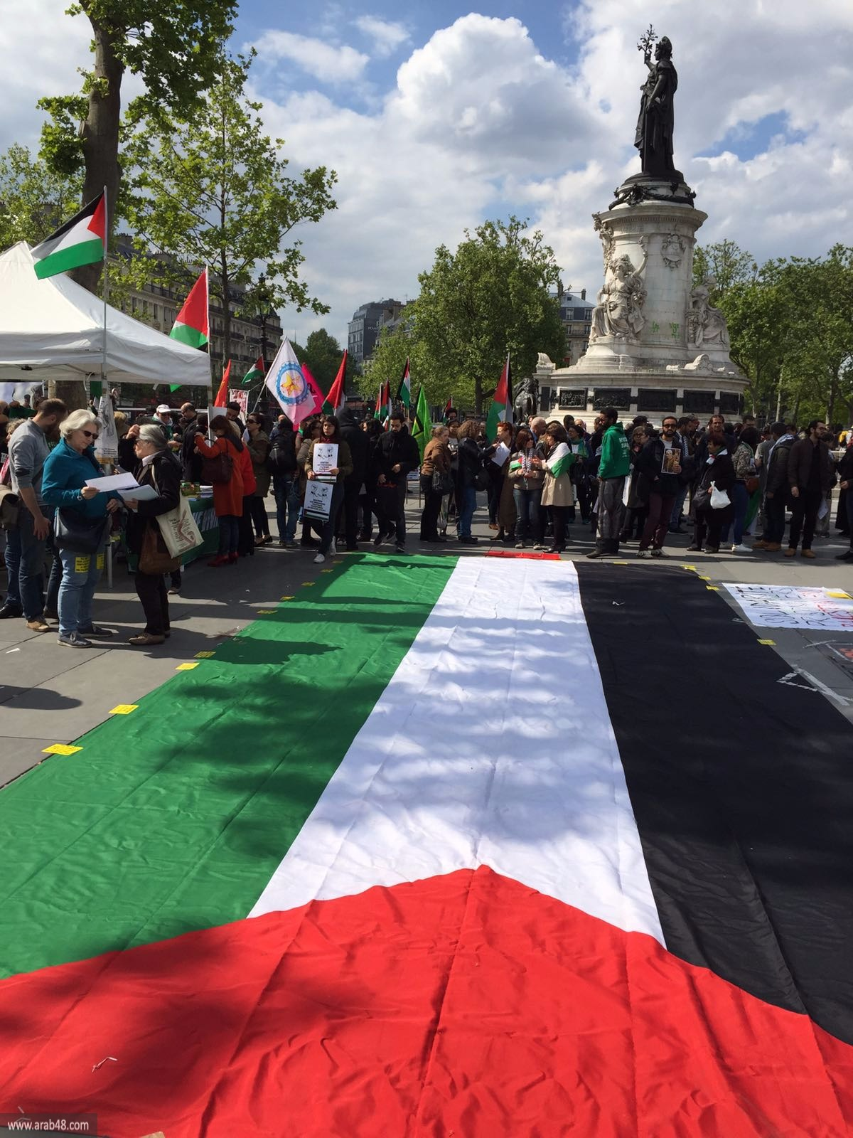 فعاليات داعمة لإضراب الأسرى بعواصم عربية وأوروبية