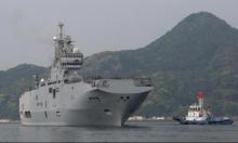 حاملة طائرات فرنسية ضمن استعراضات القوة في المحيط الهادي