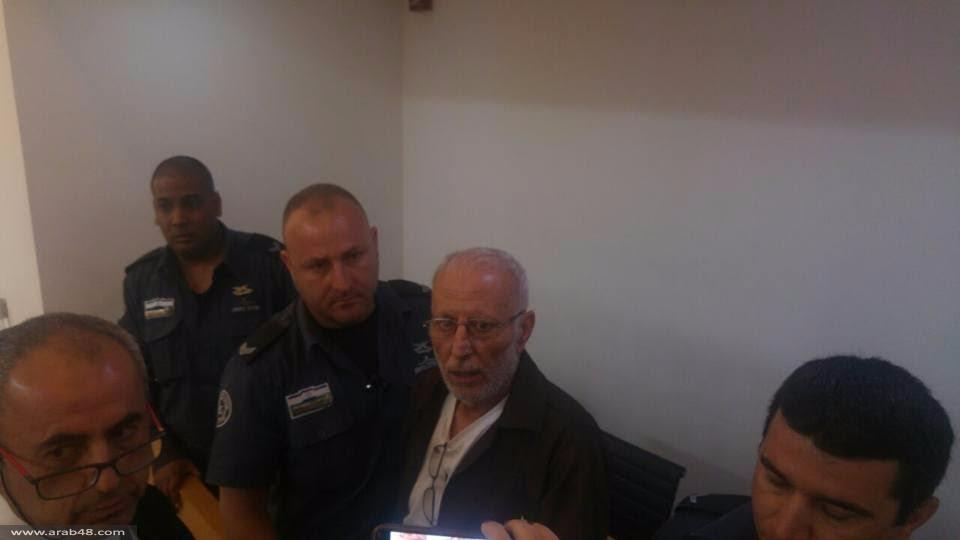 الأسير كريم يونس بالمحكمة: الإضراب مستمر ولن نتراجع عنه