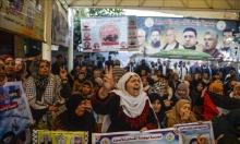 الصليب الأحمر يزور الأسرى المضربين بمجيدو والنقب