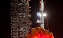 """صاروخ """"لونغ مارش"""" يصل إلى موقع الإطلاق في الصين"""