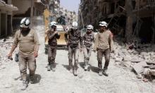 """سورية: مقتل 8 متطوعين من """"الخوذ البيضاء"""" بغارة جوية"""
