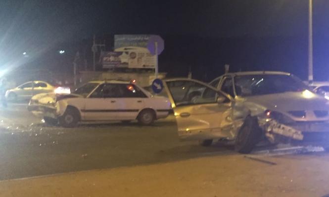 3 إصابات إحداها خطيرة بحادث طرق قرب طمرة