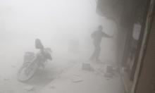 منظمة حقوقية: النظام السوري استخدم أسلحة كيماوية عدة مرات