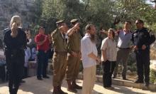 """جنود الاحتلال يؤدون """"التحية العسكرية"""" بالأقصى"""