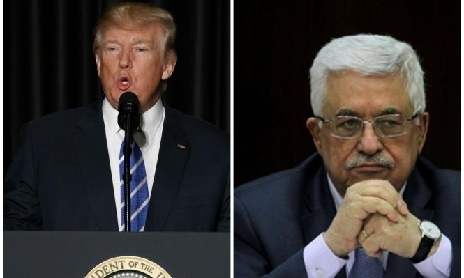 البيت الأبيض: ترامب يريد أن يؤسس للسلام خلال لقائه عباس