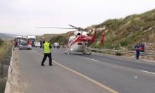 إصابة خطيرة في حادث طرق قرب الرينة