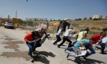 """الاحتلال يقمع تضامن الصحفيين مع الأسرى أمام سجن """"عوفر"""""""