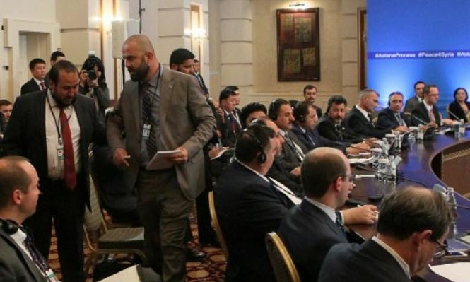 المعارضة: لسنا طرفاً في اتفاق لا يتضمن وحدة سورية