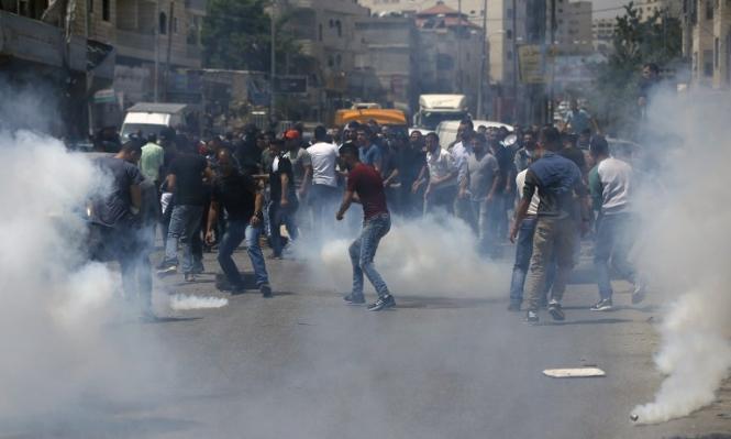 المواجهات مع الاحتلال تعمّ الضفة تضامنا مع الأسرى