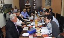 البعنة: جلسة عمل بين النائبة زعبي والمجلس المحلي