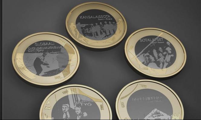 """فنلندا تصدر عملة تحمل صورة الطفل """"أيلان"""""""