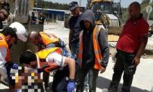 إصابة عاملين في انهيار قناة صرف صحي بمستوطنة موديعين