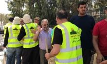 """مسيرة من """"حيفا إلى القدس والأقصى"""" تصل قلنسوة"""