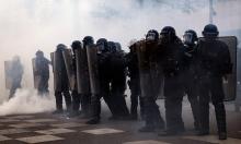 اعتقال 141 بباريس بأعمال شغب عقب فوز ماكرون