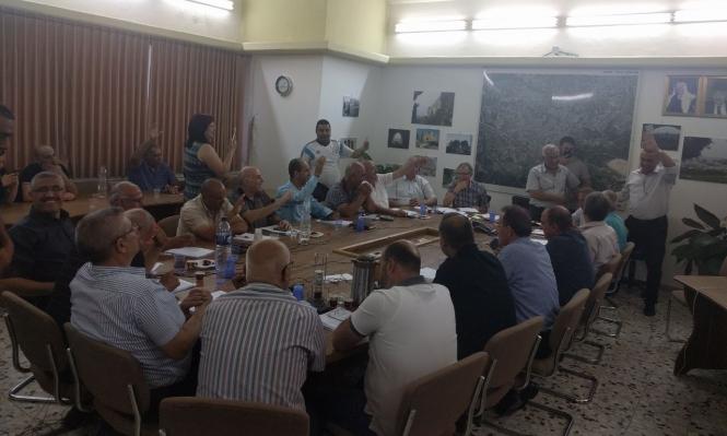 شفاعمرو: حداد يتنازل عن عضوية البلدية للأسير المحرر صفوري