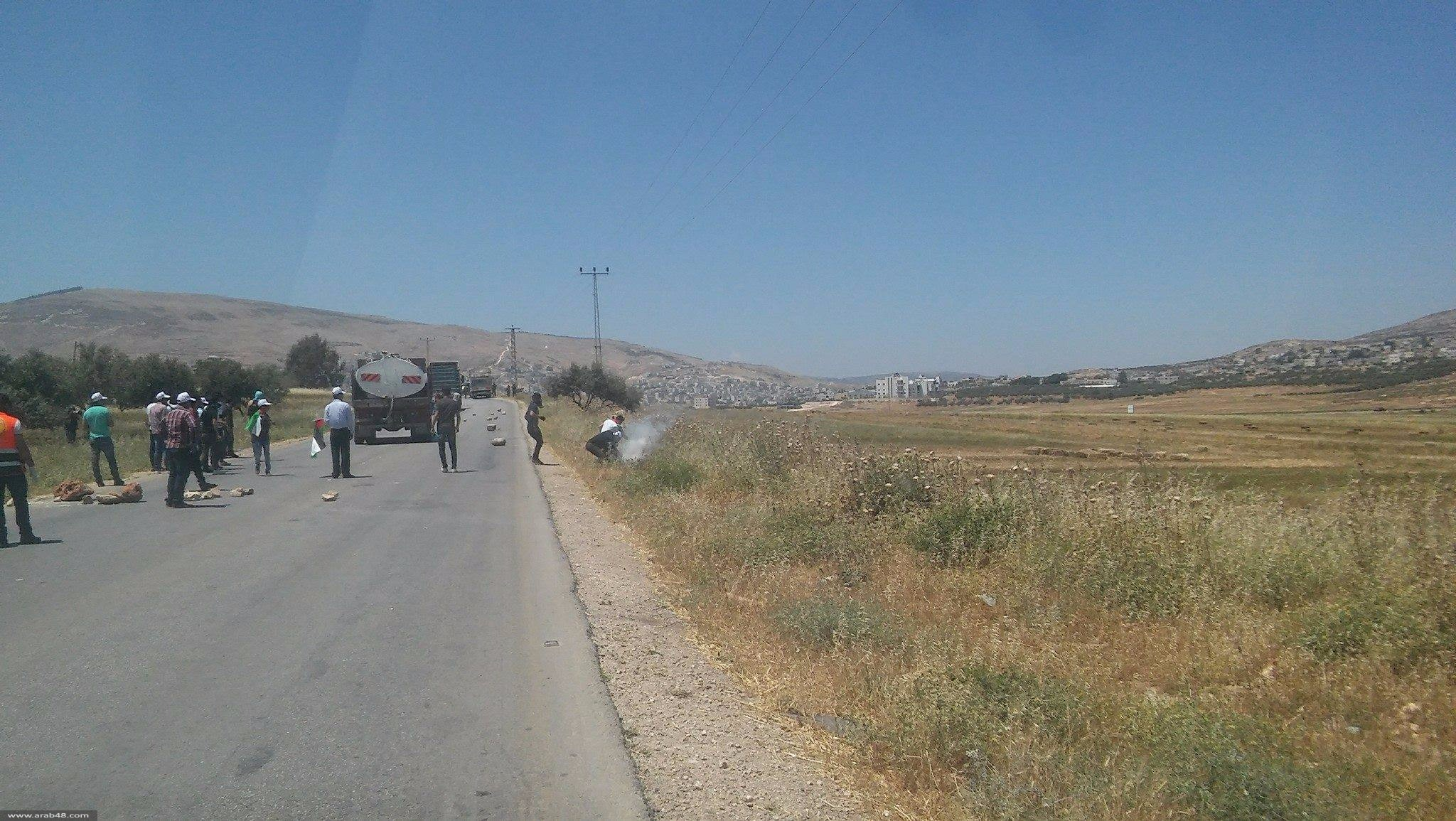 الضفة الغربية: شهيد وعشرات الإصابات بنيران الاحتلال بمظاهرات إسناد الأسرى