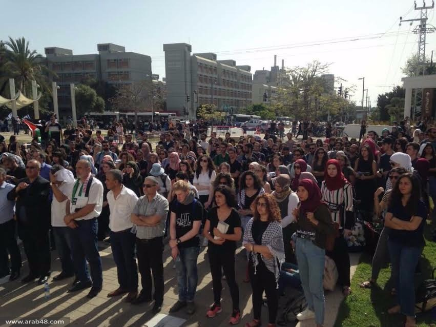 جمعية المهجرين تشارك في مهرجان إحياء ذكرى النكبة بجامعة تل أبيب