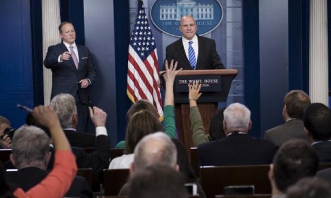 مكماستر: ترامب سيعلن دعمه لحق تقرير المصير للفلسطينيين