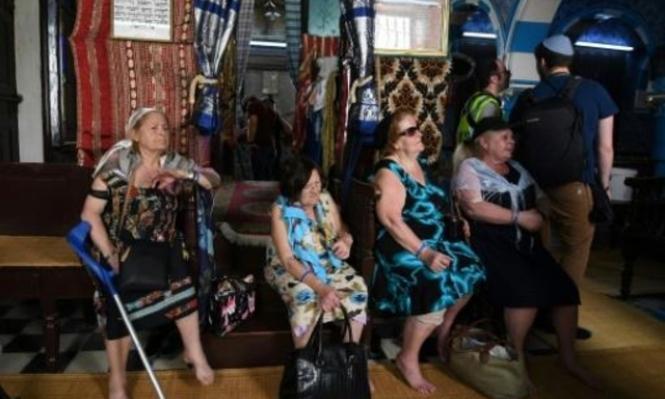 تونس: آلاف اليهود يتوجهون إلى كنيس جربة