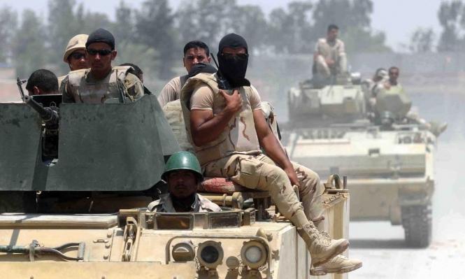 مقتل ضابط وإصابة 3 مجندين في انفجار بسيناء