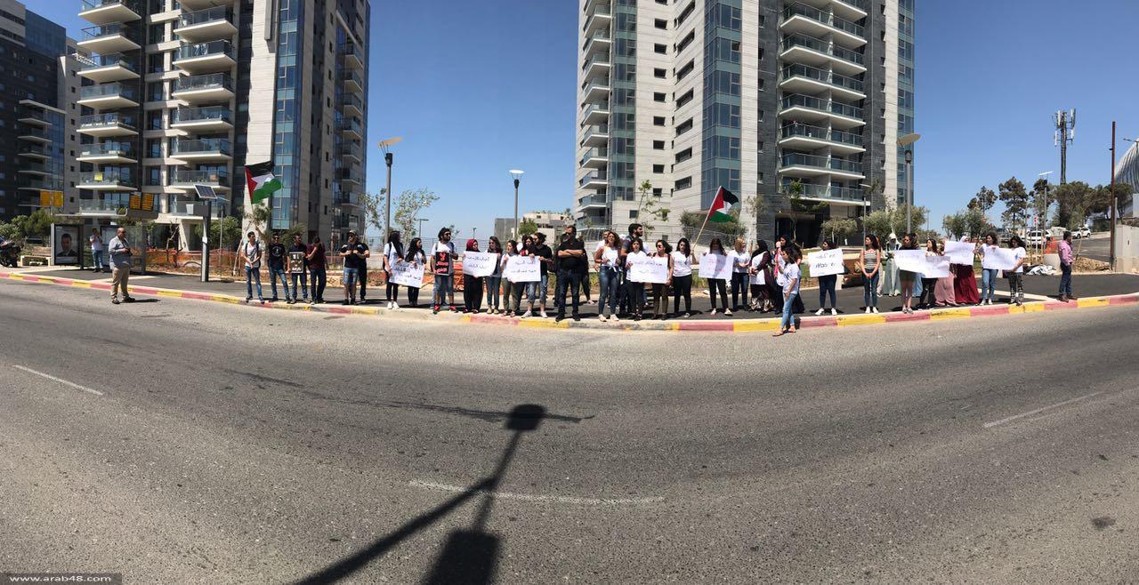 جامعة حيفا: التجمع والجبهة ينظمان وقفة إسناد للأسرى