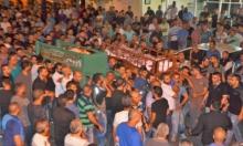 أبو سنان: تشييع ضحيتي حادث الطرق في جنين