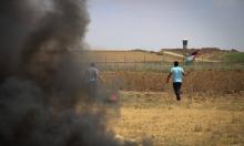 إصابات في مظاهرات إسناد الأسرى على حدود غزة
