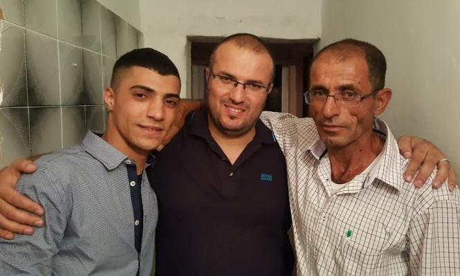 مصمص: الأسير هشام إغبارية يعانق الحرية