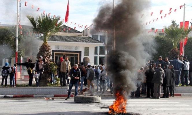 الجيش التونسي أطلق النار على متظاهرين طالبوا بوظائف