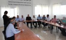 المتابعة تعقد مؤتمرا صحافيا حول الإضراب التضامني مع الأسرى
