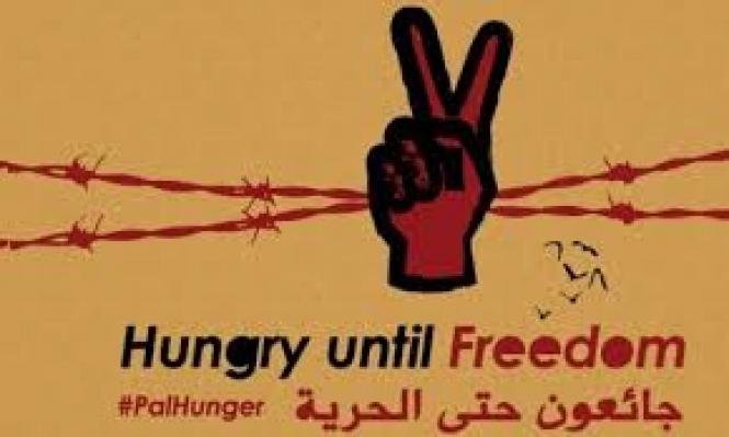200 أسير ينضمون لإضراب الكرامة بيومه الـ35